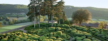 Los pintorescos jardines colgantes de Marqueyssac (Francia)
