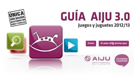 La guía AIJU presenta los juguetes más adecuados para los niños por su valor lúdico y pedagógico