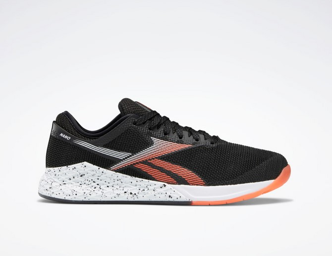 Zapatillas Nano 9.0 Black / White / Vivid Orange