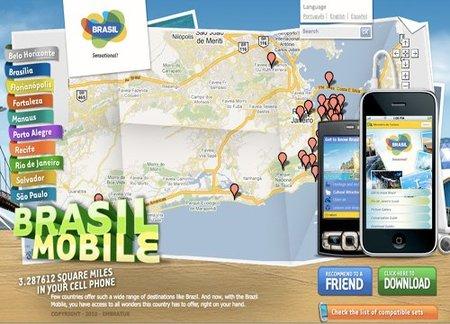 Brasil a través del móvil