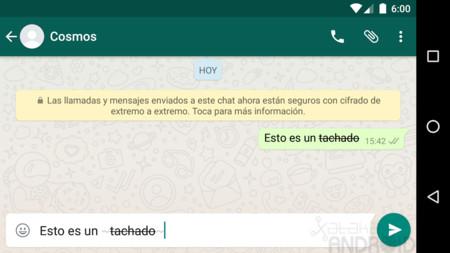 Tachado