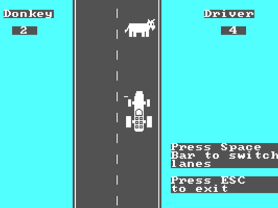El primer juego del IBM PC fue un Flappy Bird con un burro creado por Bill Gates (y lo puedes jugar)