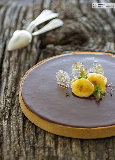 Tarta Choco Platan