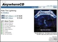 AnywhereCD, MP3 más discos físicos sin DRM