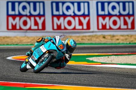 Jaume Masià repite victoria en MotorLand para meterse de lleno en la lucha por el mundial de Moto3