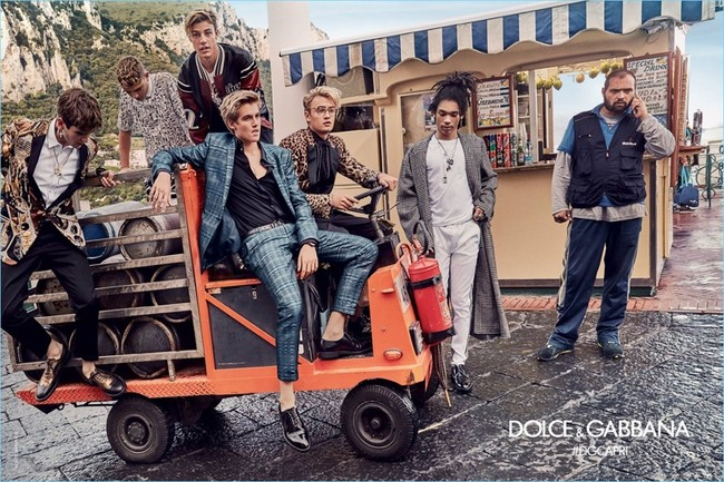 Dolce Gabbana 2017 Spring Summer Mens Campaign 003