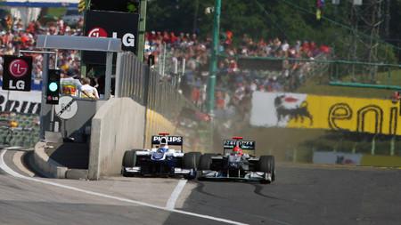 Schumacher Barrichello Hungria F1 2010