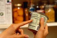 ¿Qué leemos en la etiqueta de un alimento?