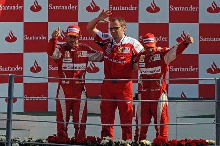 Fernando Alonso sigue sin ser el piloto número 1 de Ferrari