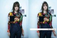 Balenciaga campaña Primavera-Verano 2012: con el pelo alborotado (y sin medias de color)