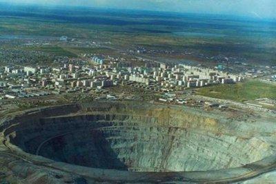 ¿Cuál es el mejor lugar para ver diamantes? Olvidaos de Tiffanys: es un yacimiento recién descubierto en Rusia que podría abastecer al mundo durante 3.000 años