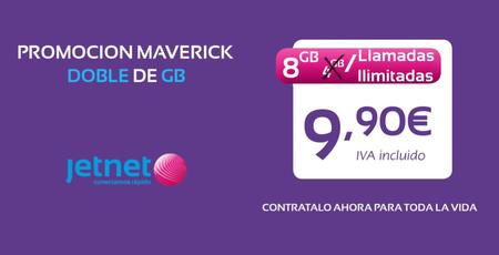 Jetnet sube la apuesta: llamadas ilimitadas y 8 GB por 9,90 euros