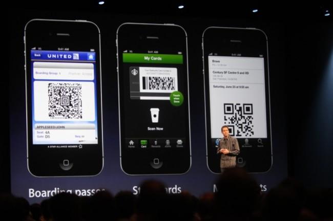 Presentación de Passbook en el WWDc de 2012