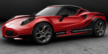 El Alfa Romeo 4C, nuevo Safety Car del WTCC