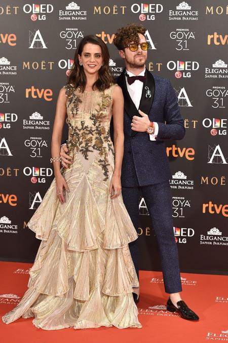 Macarena Gomez Alfombra Roja Premios Goya 2017 2