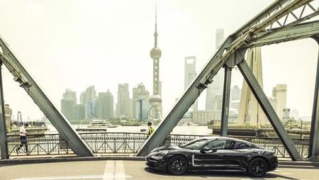 Low Taycan Prototype Shanghai 2019 Porsche Ag 1