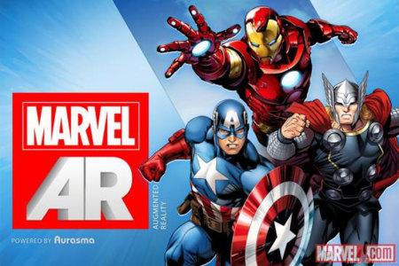 Marvel incluye la Realidad Aumentada en sus comics