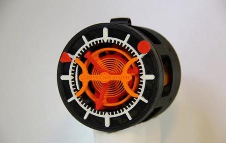 Este es el primer reloj impreso en 3D completamente funcional: el Christoph Laimer Tourbillon