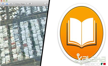 ibooks y mapas