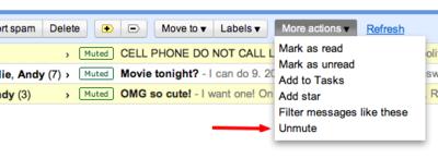 Callar las conversaciones pesadas en Gmail ahora es mucho más fácil y eficaz