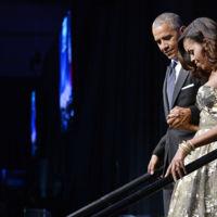 Michelle Obama consolida su estatus de icono de estilo con un traje de cuento de hadas firmado por Naeem Khan