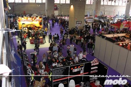 El salón de la motocicleta MotoMadrid 2012; rotundo éxito