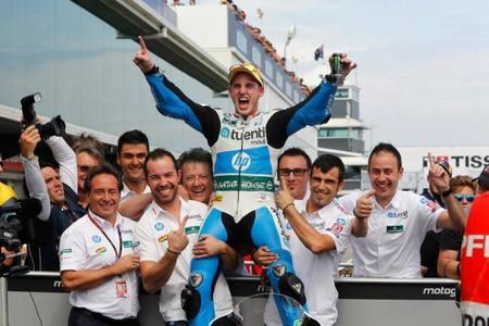 Pol Espargaró se proclama campeón del mundo de Moto2 en el Gran Premio de Japón