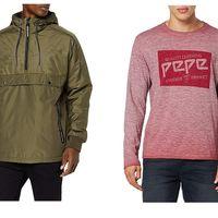 Chollos en tallas sueltas de chaquetas, cortavientos y camisetas de marcas como Tommy Hilfiger, Superdry o Jack & Jones en Amazon