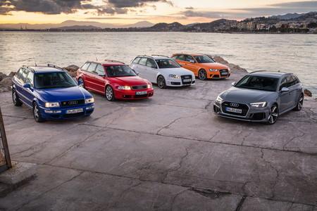 Audi RS2 y Audi RS4 Avant
