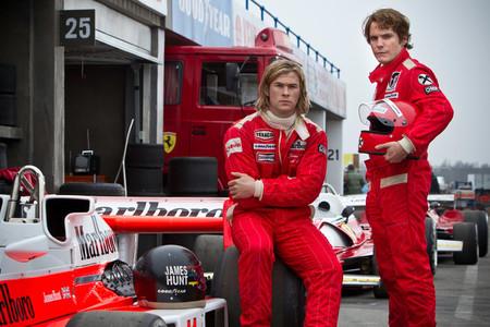 'Rush', un auténtico peliculón sobre la Fórmula 1 de los años 70