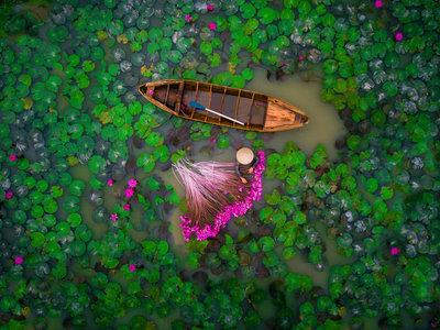 Las imágenes ganadoras del Concurso de fotografías con drones 2017 de Dronestagram