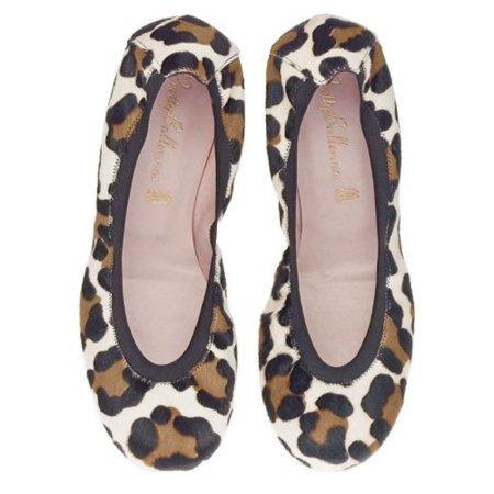 Bailarinas print de leopardo