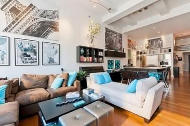 Puertas abiertas: un loft moderno en New York