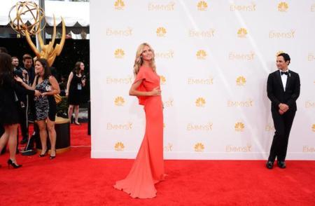 Heidi Klum con (y de) Zac Posen en los #Emmys2014