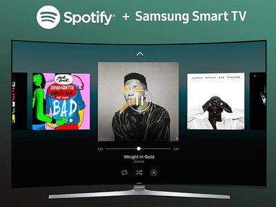 Spotify actualiza su app para las smart TV Samsung de 2015 y 2016