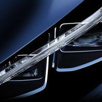 Este faro es el primer 'teaser' de la próxima generación del Nissan LEAF que se estrena en septiembre