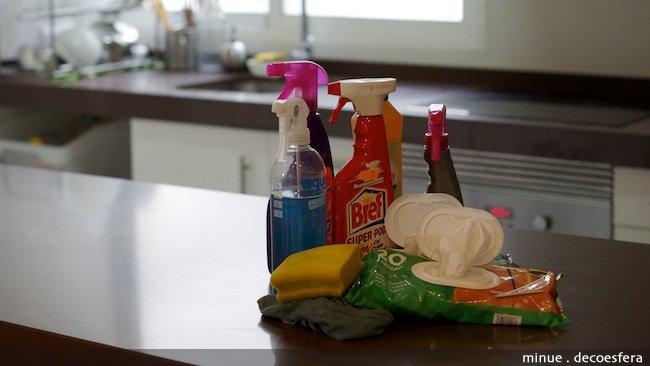 Nuevas formas de cuidar la cocina - productos limpieza