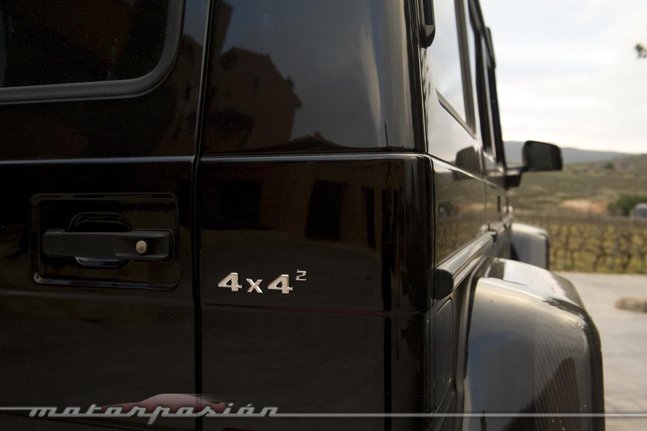 Foto de Mercedes-Benz G 500 4x4², toma de contacto (124/127)