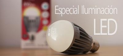 Tipos de bombillas LED. Especial: Iluminación LED