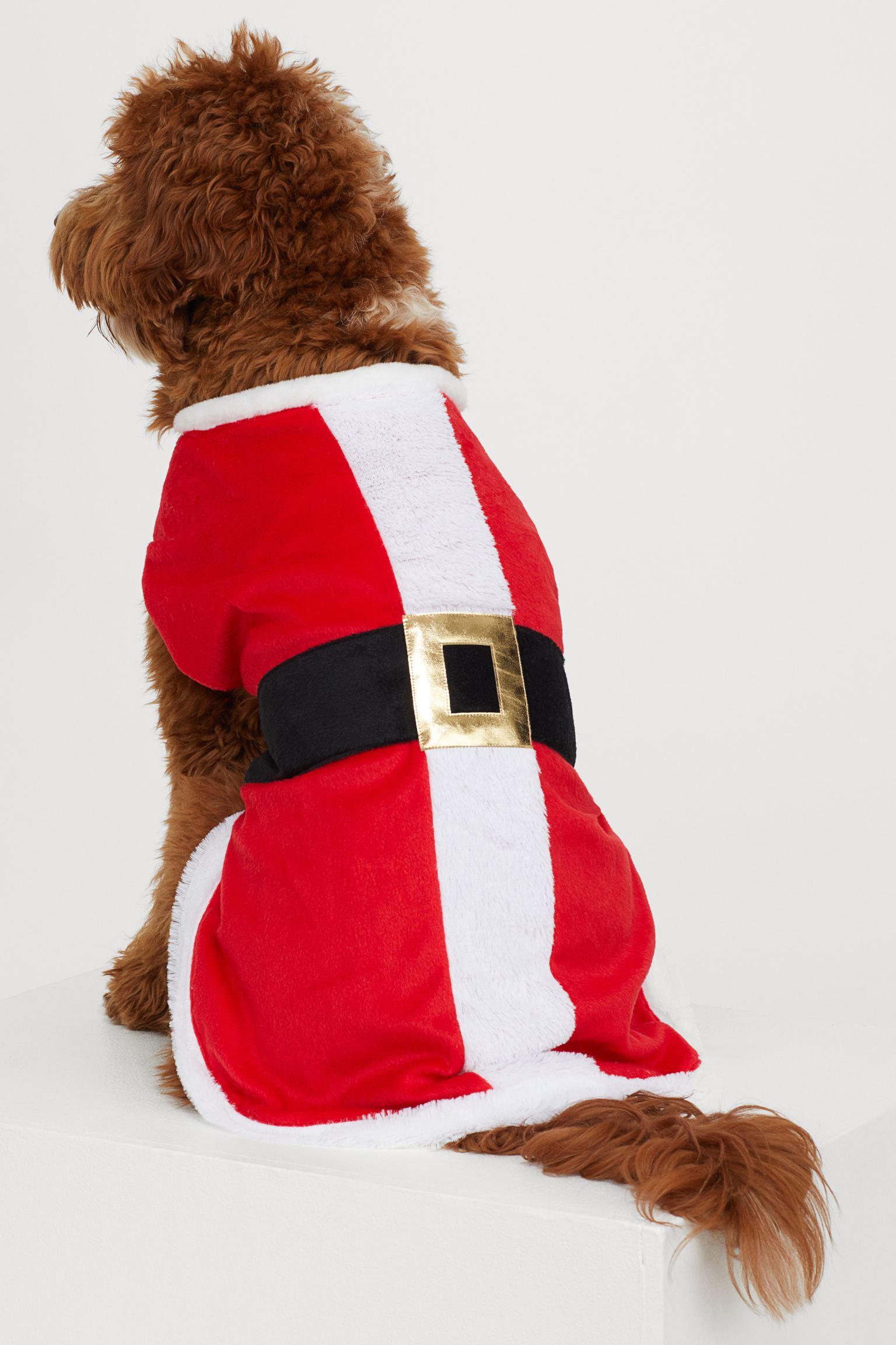 Capa de Papá Noel para perro
