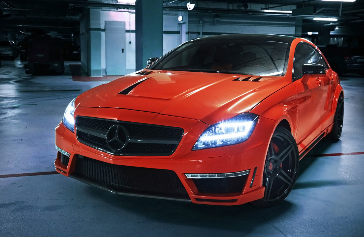 "Foto de German Special Customs Mercedes-Benz CLS63 AMG ""Stealth"" (1/11)"