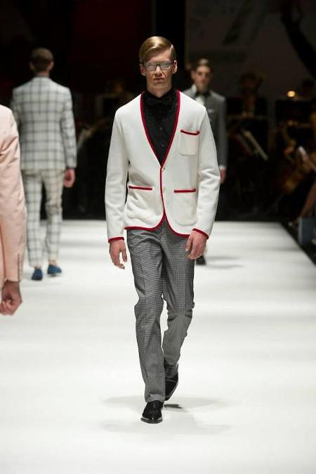 Hackett London SS 14  Blanco rojo