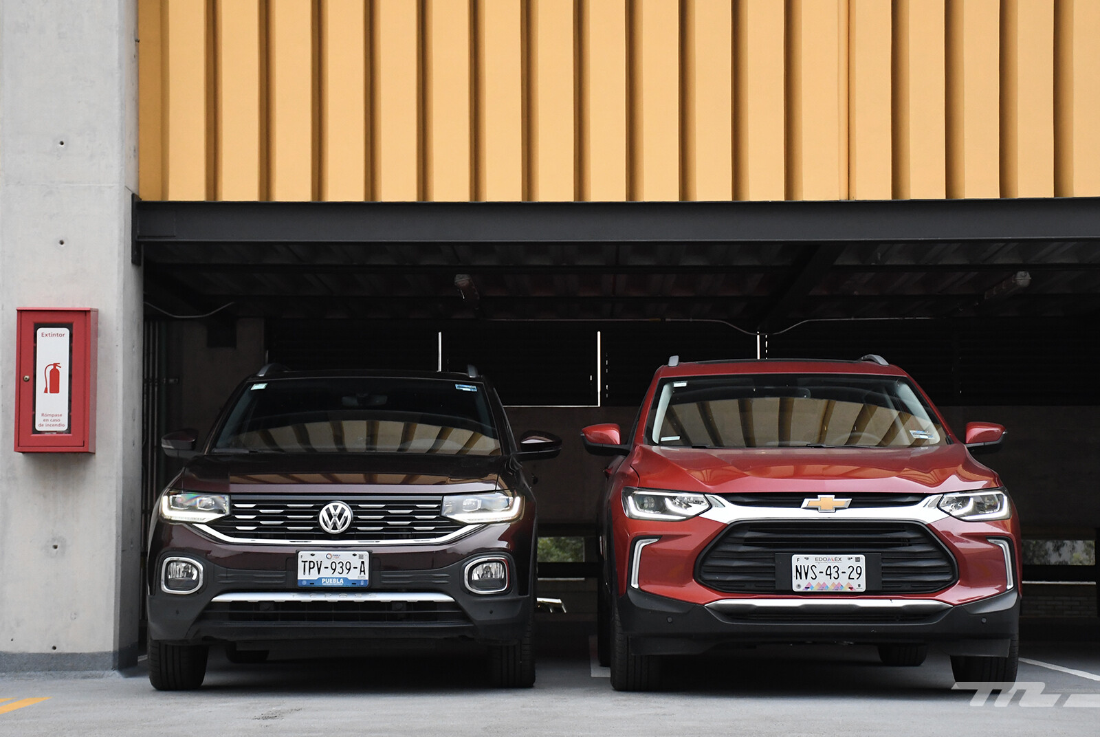 Foto de Chevrolet Tracker vs. Volkswagen T-Cross (comparativa) (4/29)