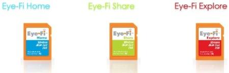 Eye-Fi, ahora dos nuevos modelos