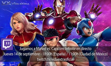 Jugamos en directo a Marvel vs. Capcom Infinite a las 18:00h (las 11:00h en Ciudad de México) [Actualizado]