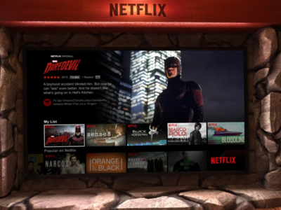 Netflix VR ya está disponible para los Google Daydream View