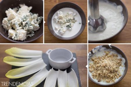 Dip de queso azul y nueces - 2