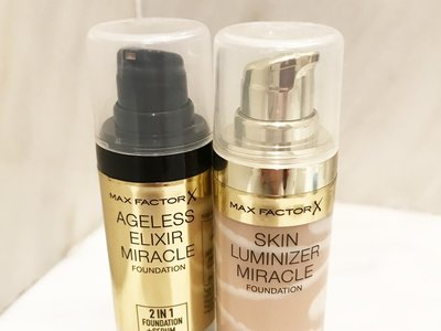 Bases de maquillaje a examen: comparamos Ageless Elixir 2 in 1 y Skin Luminizer de Max Factor
