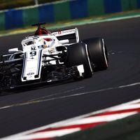 ¿Hasta dónde puede llegar un piloto de Fórmula 1 por ganar unas décimas? Ericsson ni siquiera lleva agua