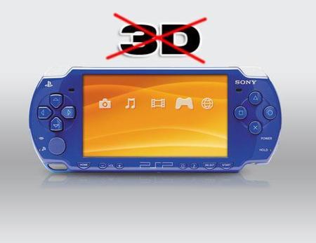 Sony dice no al 3D en la PSP. De momento, sólo en PS3